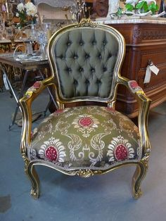 french home decor - Bing Images Great chair