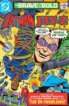 """Read more to find out what sinister force brings Hova and the Caped Crusader together for the greatest adventure of them all in... """"The 99 Problems!"""""""