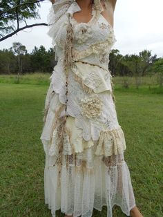 she has stories to tellvintage inspired shabby by wildskin on Etsy, $155.00
