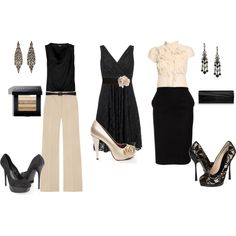 You guys know I love ruffles and lace and and BLACK.  BLACK is my entire wardrobe!  I want those white pants!