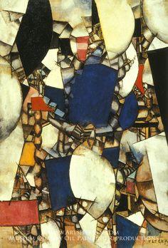 Woman in Blue, Fernand Leger
