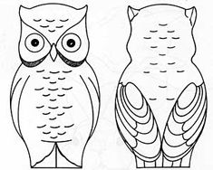 Chainsaw Carving free patterns instructions: How carve a OWL