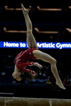 Rebecca Bross gymnast prelim qualification  41st Artistic Gymnastics World Championship 2009   WAG London balance beam USA m.6.15 #KyFun artist gymnast, train equip, artistic gymnastics, rebecca bross