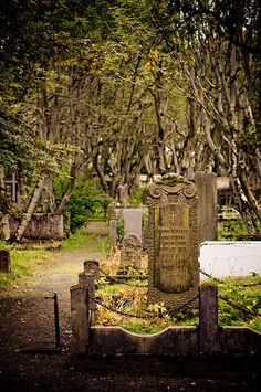 Graveyard in Iceland. By Zanthia on Flickr.