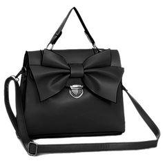 Emiko - Womens fashion black shoulder #handbag $49.00