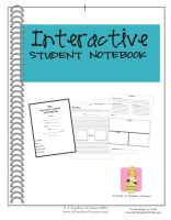 Interactive Student Notebook - A unique resource that will change that way you teach & the way your students learn forever!!!! The ultimate differentiating Instruction & alternative assessment tool! Over 100 pages!