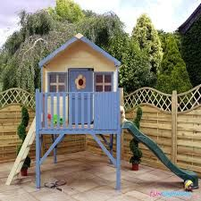 play house with slide - Google Search
