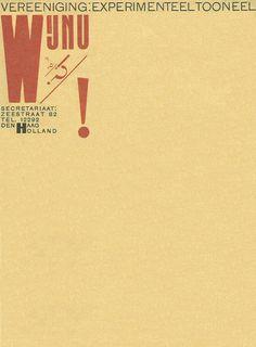 1925,,WijNu Experimental Theatre Group