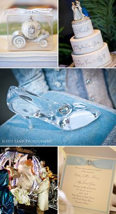 Cinderella Accents for Themed Disney Weddings