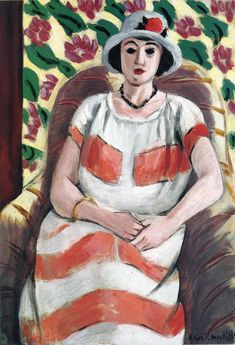 Young woman in Pink - Henri Matisse