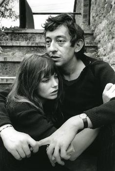 Jane Birkin and Serge Gainsborough, circa 1969