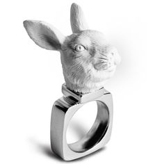 Bunny Ring   47 Intensely Delightful Pieces Of Animal Jewelry