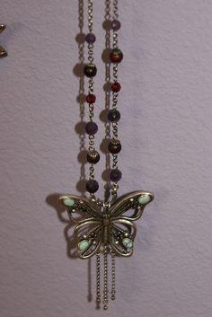 My Lucky brand butterfly necklace