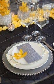Sunny Lemon Yellow Wedding Decor