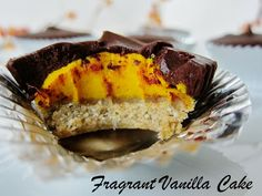 Infuse some fall into your dessert course with these Raw Chocolate Pumpkin Pie Cups