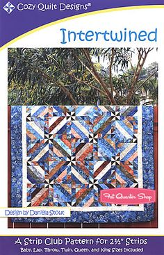Intertwined Quilt Pattern Cozy Quilt Designs