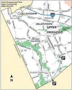 Crosswicks Creek Greenway  Map