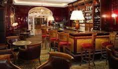 Classic Unique Hospitality Interior Design of The Goring, London UK - Bar