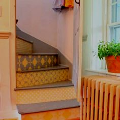 Stair case creativity