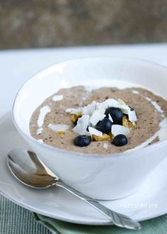 Paleo Breakfast Porridge (grain free, gluten free, vegan)