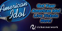 Get Your American Idol Live Tickets Here! idol live, ticket deal, american idol, live ticket