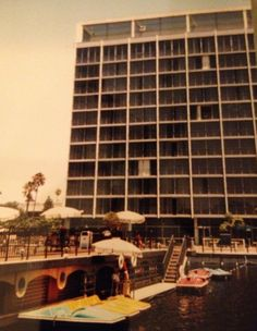 Disneyland Hotel when this was the best pool area ever. disneyland hotel, pool area, disney hotel