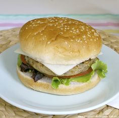 Receta hamburguesa de lentejas