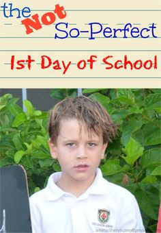 Love this post because it reminds me what the kids really need the fist day of school that I often overlook | the House of Hendrix #firstdayofschool #backtoschool
