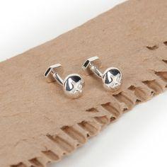 OwenAndFred.com: Phillips Head Screw Cufflinks - Silver, $176.00
