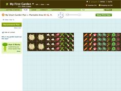 Smart Gardener - guidance on what / when to plant and layout. For gardens in the ground, raised beds and containers.
