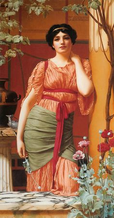 "John William Godward ""Nerissa"" 1906"