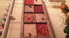 can do this with any type of scrap book paper with an old window
