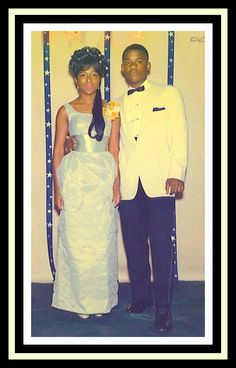 """""""Me at sixteen with prom date. My brother's best friend, Milton!"""" ~ Vanessa Shaw submitted this photo to our #myVBG page at http://myvbg.com. The Vintage Black Glamour book (http://VBGbook.com)..."""