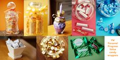 Printable candy wrappers for each Young Women value. #youngwomen #candy