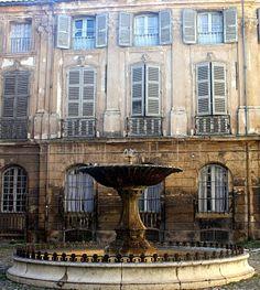 [AIX EN PROVENCE]    Fountain in Aix en Provence / Fontaine à Aix en Provence  #provence #alpes #cote #azur #tourism #tourisme #france #south #sun #aix #aixenprovence #market #fountain #fontaine #pacatourism #pacatourisme #PACA #provencal #ocean #beach #tourismepaca #tourismpaca