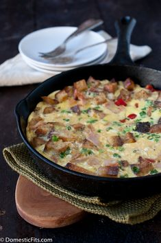 Leftover Turkey Frittata Recipe