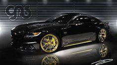 725bhp GAS Mustang
