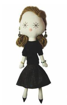 Miuccia Prada doll ♥ Laloushka   Knuffels à la carte blog