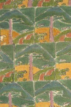 Raymond Duncan textile panel, ca. 1920