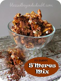 How to make smore mix that is addicting! So good!