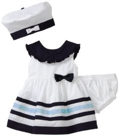 Cute sailor dress for newborn