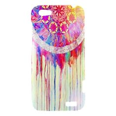 Dream Catcher Case HTC One V Case Cover Hard Case Hardshell Case Dream Catcher Art Painting