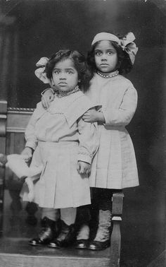 Frances E. Hughes and Lois A. Brown, nieces of Hallie Q