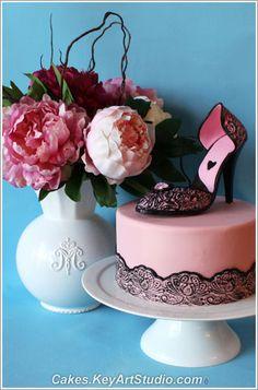 High Heel Shoe Cake - this one too!!