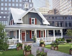 green homes, houses, dream, southern bell, exterior color, countri live, wrap around porches, flea market style, country homes