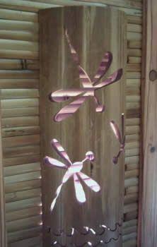 lanterna de bambu