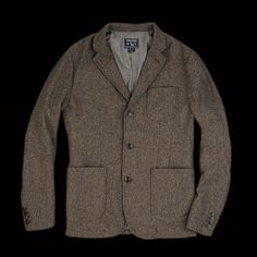 UNIONMADE - Woolrich John Rich & Bros. - Workers Tweed Jacket in Conductor Green