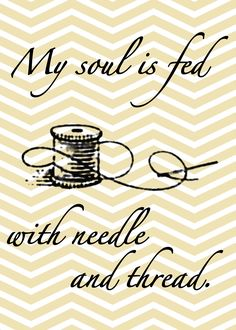 needle and thread free printable printables, famili, sew room, sew printabl, free printabl, sewing rooms, needl, free sew, sewing quotes