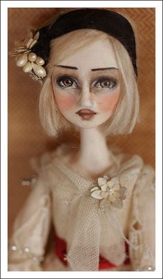 Poppy doll ornament by du_buh_du_designs, via Flickr
