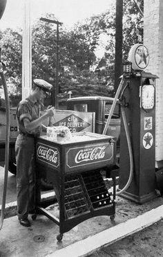 Coca Cola on ice - City Ice Delivery Company